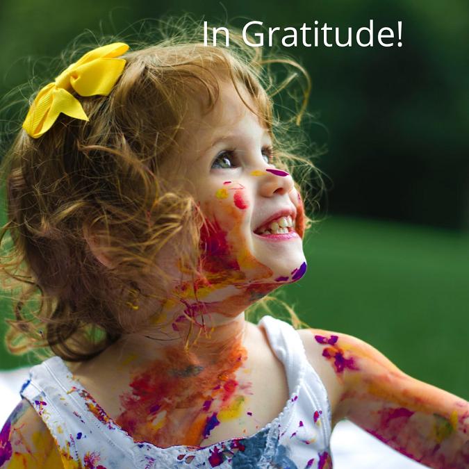 In Gratitude!
