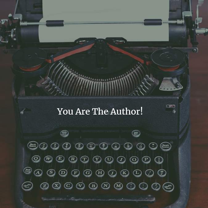 You Are the Author!