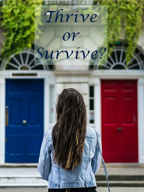 Thrive or Survive?
